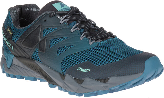Merrell Agility Peak Flex 2 E Mesh Running Shoes Men greyblack